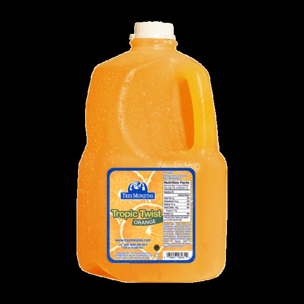 Tres Monjitas Tropic Twist Orange 120oz