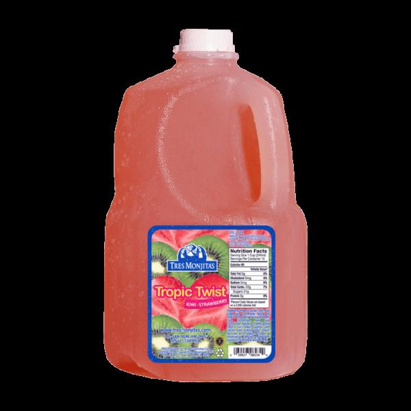 Tres Monjitas Tropic Twist Kiwi Strawberry 120oz