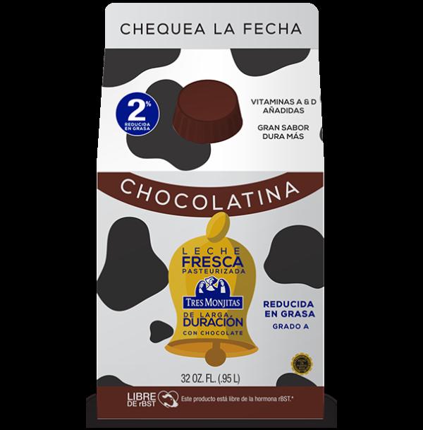 Chocolatina – Leche Fresca pasteurizada de larga duración con chocolate, 32 onzas