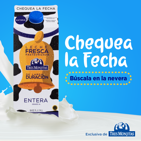 Tres Monjitas launches the first long-lasting fresh milk in the world