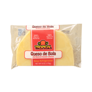 Quesos Tropical Queso de Bola All Natural Gouda Cheese 6 Oz