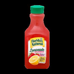 Floridas Natural Lemonade With Strawberry 59oz