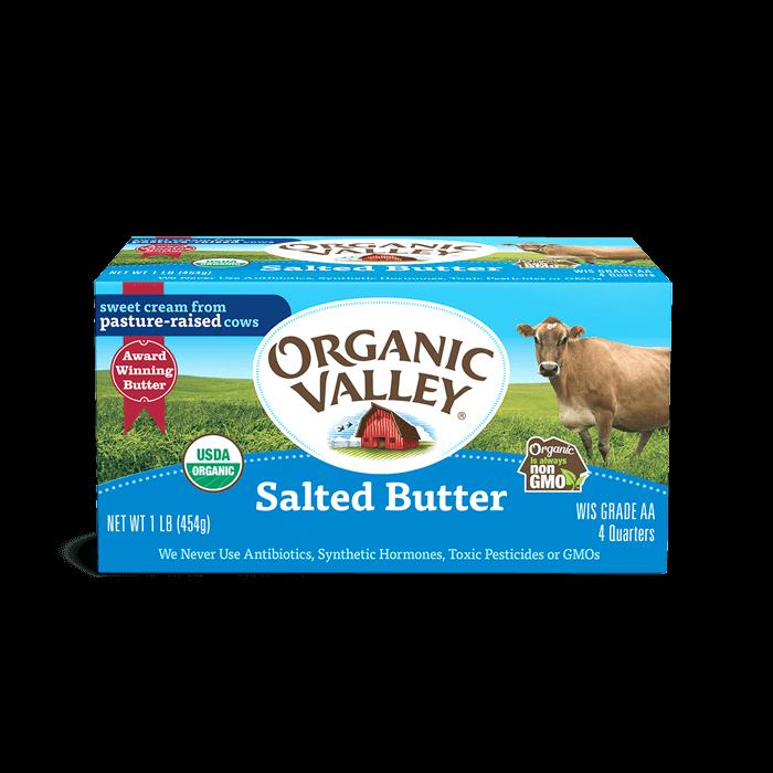 Mantequilla Organica Con Sal