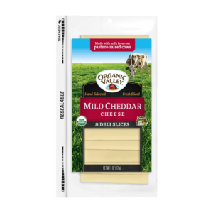 Mild Cheddar Cheese Slices 6oz