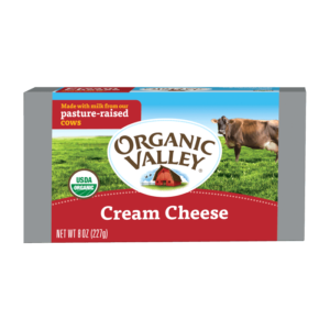 Organic Valley Cream Cheese 8oz