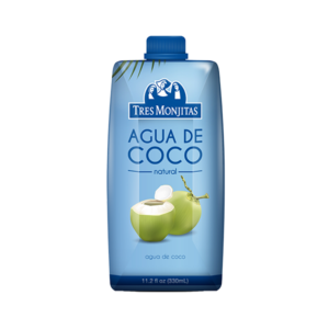 Tres Monjitas Agua de Coco Natural 11.2 Oz