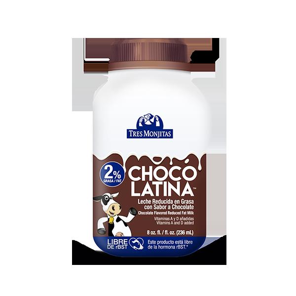 Tres Monjitas Chocolatina Leche reducida en grasa 2% 8 Oz