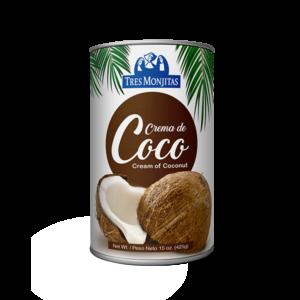 Tres Monjitas Crema de Coco 15 Oz