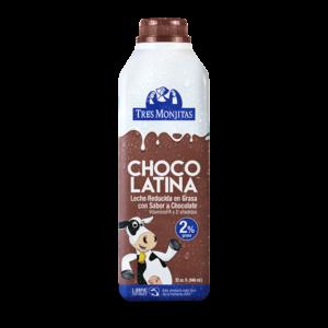 Tres Monjitas Chocolatina Leche reducida en grasa 2% 32 Oz