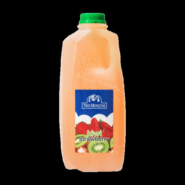 Tres Monjitas Beverage Kiwi Strawberry 64oz