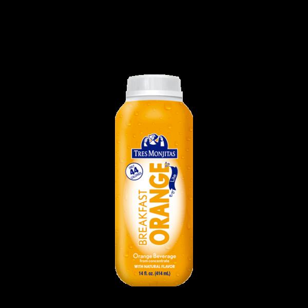 Tres Monjitas Orange Beverage Lite 14oz