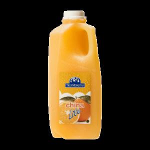 Tres Monjitas Orange Beverage Lite 64oz