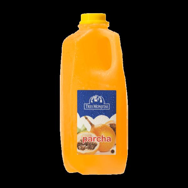 Tres Monjitas Passion Fruit Beverage 64oz