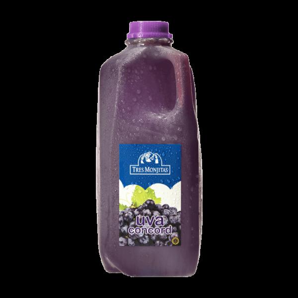 Tres Monjitas Beverage Grape 64Oz