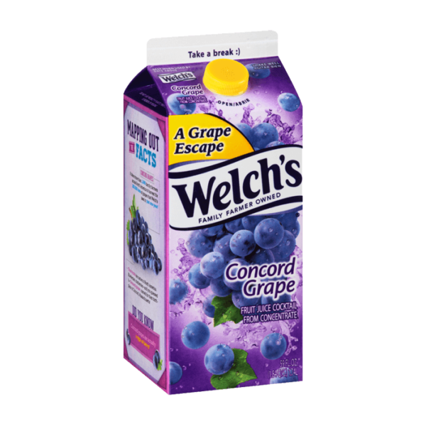 Welchs Concord Grape 59oz