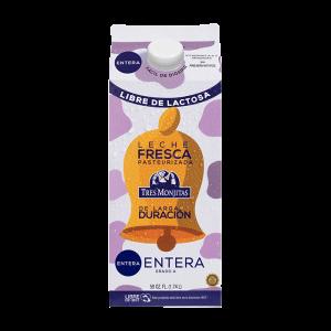 Tres Monjitas Whole Milk Lactose Free Long Shelf Life 59 Oz